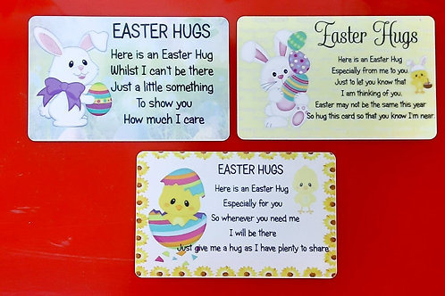Easter Hugs Wallet cards