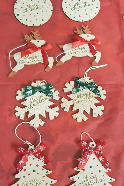Christmas Gift Tags (set of 5 or 8)