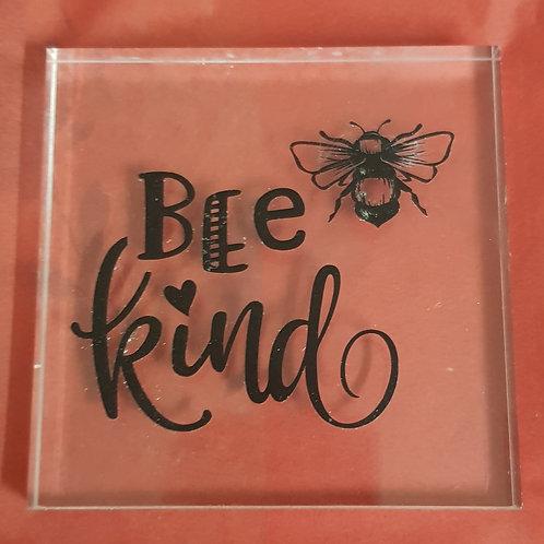 Bee Kind Acrylic Plaque