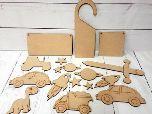 Wooden Craft Kit 2