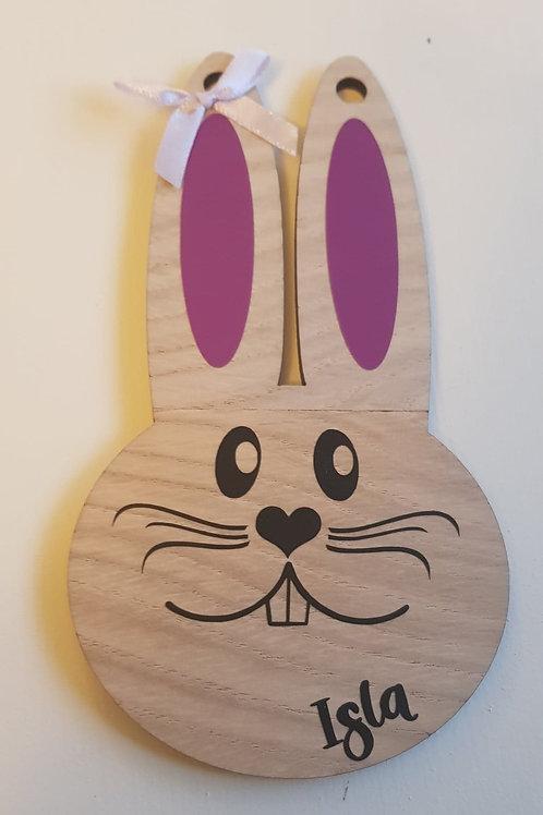 Bunny Hanging Plaque