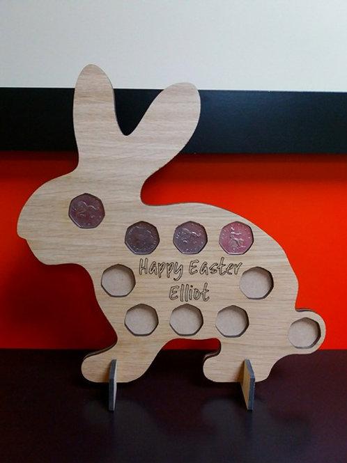 Bunny Money Plaque
