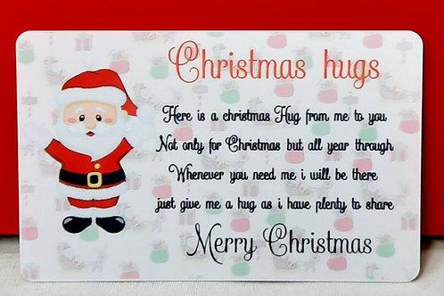 Christmas Hugs / Big Hugs Wallet cards