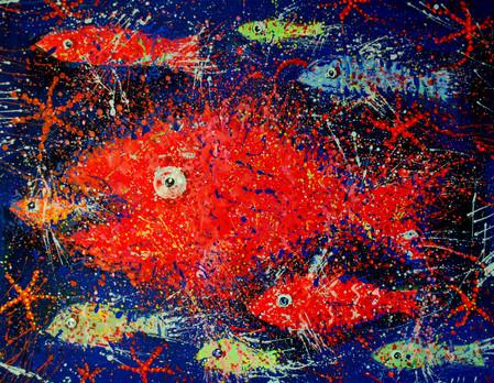 La famiglia dei pesci.