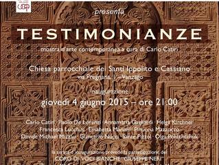 Testimonianze - UCAI, ArteSezaConfini