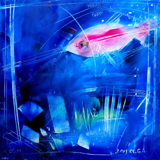 iIl neon, 60x60 cm, olio, tela, 2010.JPG