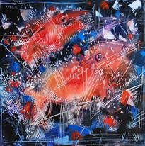 pesci rossi 2 60x60cm.jpg