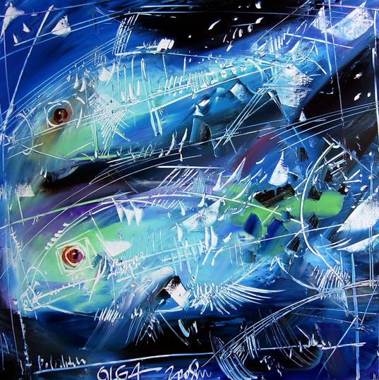 pesce azzurro 1 60x60cm.JPG