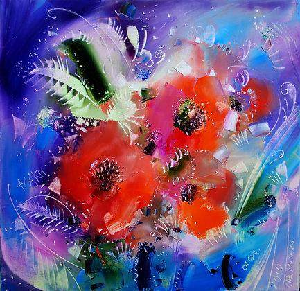 I fiori rosse