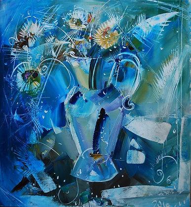 La naturamorta azzurra