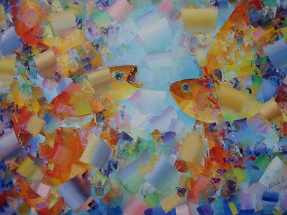 Il dialogo tra due pesciolini