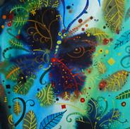 La farfalla sotto la pioggia,50x70cm, ac