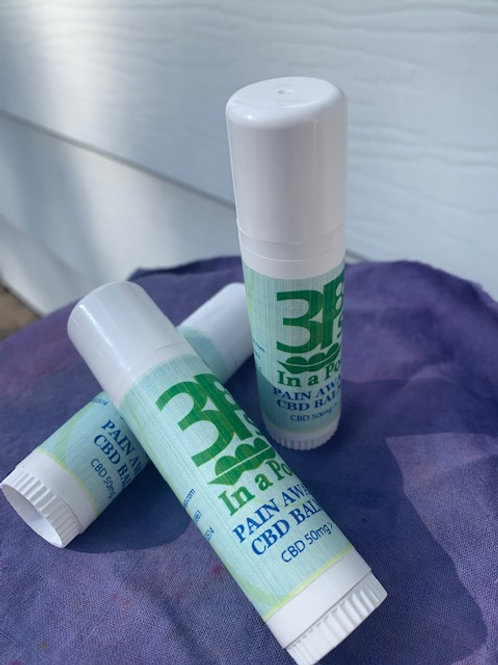 CBD Pain-Away Balm 3 Tubes