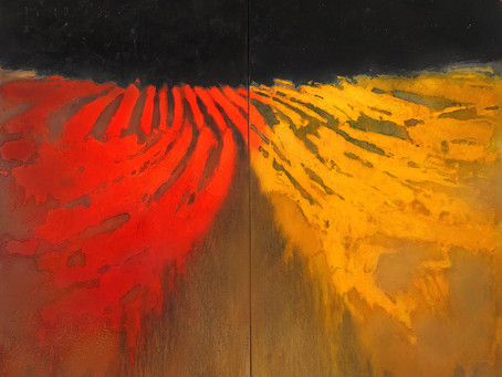 Neues Gemälde EINHEIT ab 3.Oktober 2020 hier als Druck erhältlich!
