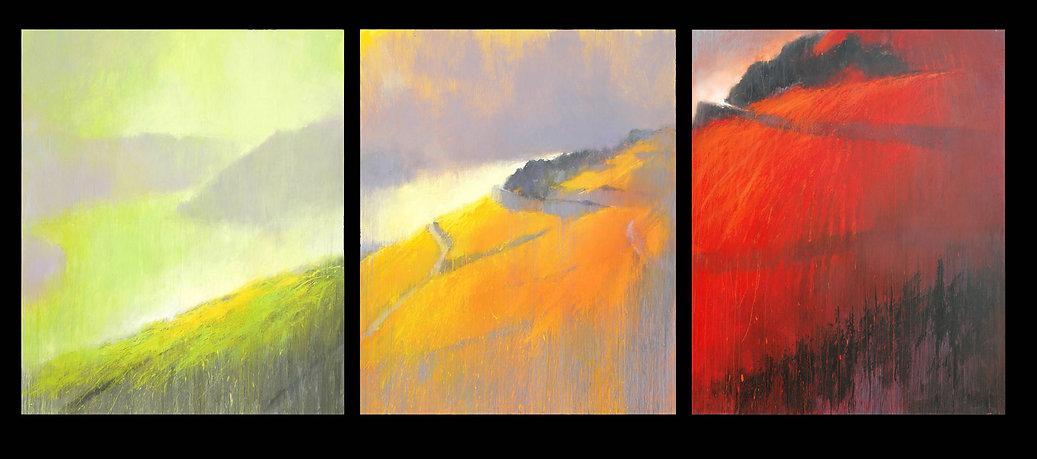 Welterbe-Wein-Triptychon