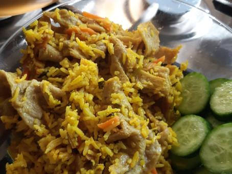 אורז הפתעה! 34 גר'חלבון בארוחה/ Rice Surprise! 34 grams of protein at a meal