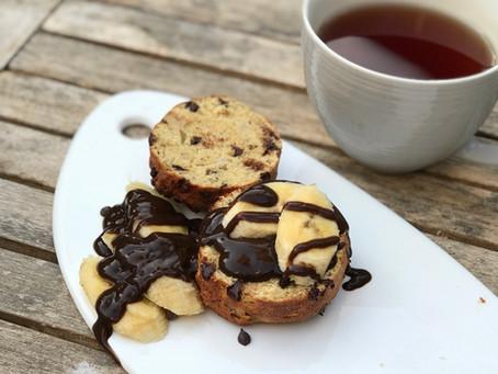 לחמניות חלבון מתוקות / chocolate chips Protein scone
