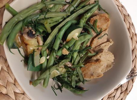 סייטן מעושן ביתי,טעים ועם ערכים נפלאים / Smokey homemade seitan, delicious and great values