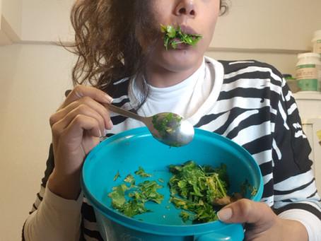 סלט סייטן בייבי/ Seitan salad baby