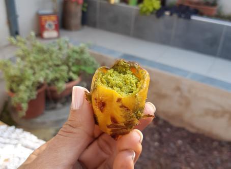 ירקות ממולאים בקמח סויה והפתעות / Vegetables stuffed with soy flour and surprises