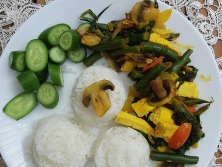 טופו תרד ועוד/ Tofu spinach & more