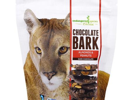 שוקולד מריר עם שקדים ואגוזים/Chocolate Bark, Dark Chocolate, Almonds & Peanuts