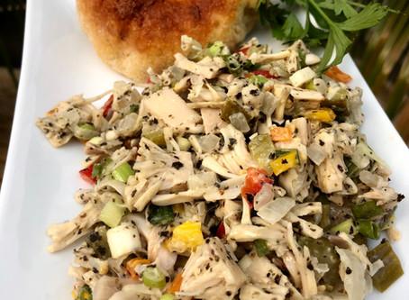 סלט טונה טבעוני / Vegan Tuna Salad