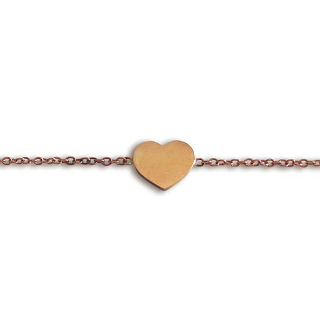 Peace Love Jewelry Rose gold Bracelet.jp