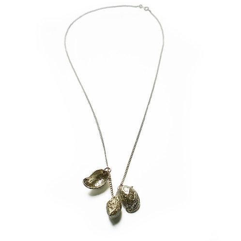 Peanuts silver 925 necklace