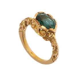 Ashram ring yellow gold emerald.jpg