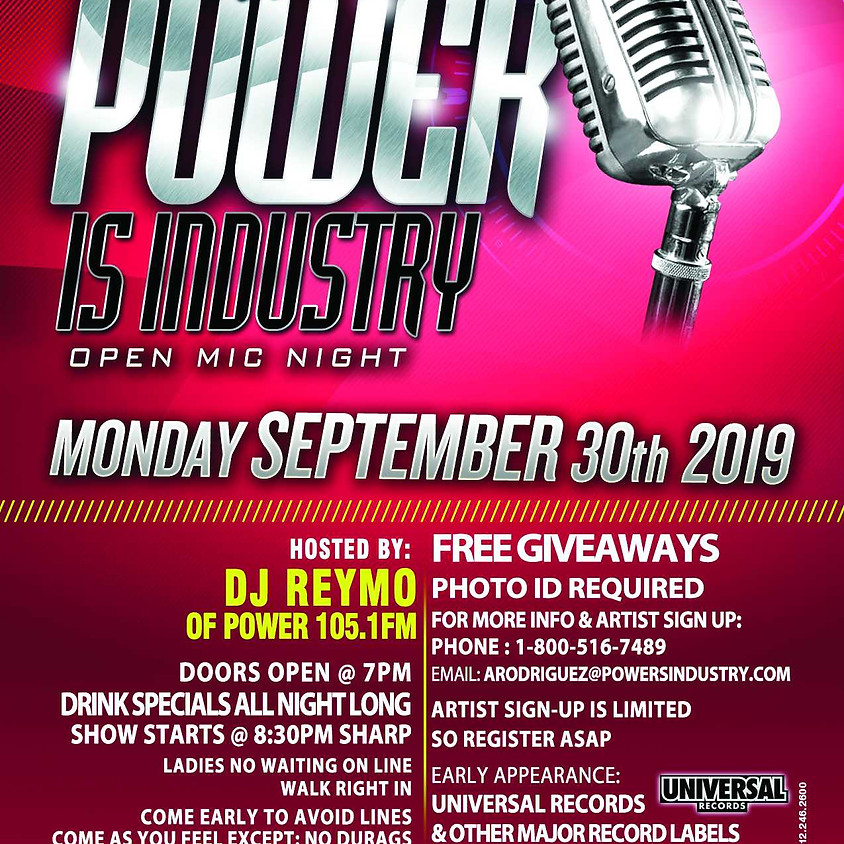 Power Is Industry [Power 105.1]