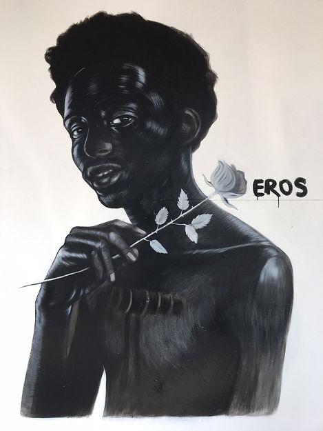 Imagined NArrative (Eros) 6ft x 10ft acr