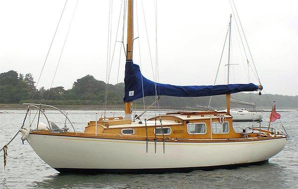 Classic yacht South Coast One Design SCOD