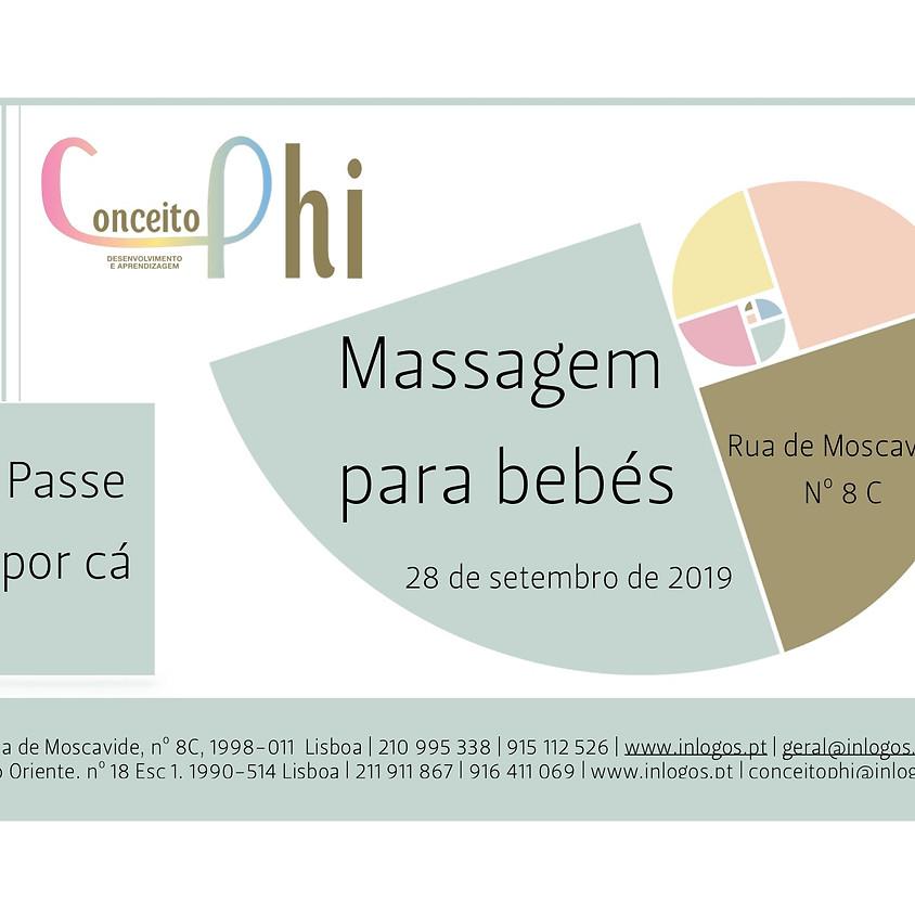 Massagens para bebés (0 aos 12 meses)