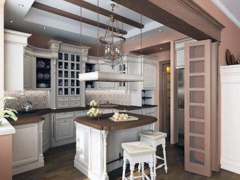 Элитная мебель из дерева, мебель для кухни