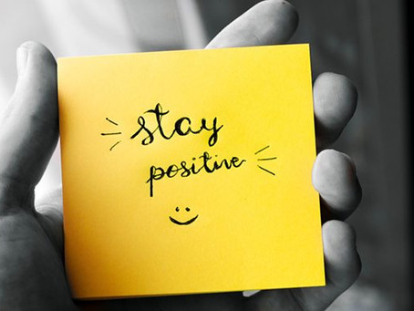 """The Power of Positive Thinking: """"Just Stay Positive."""""""