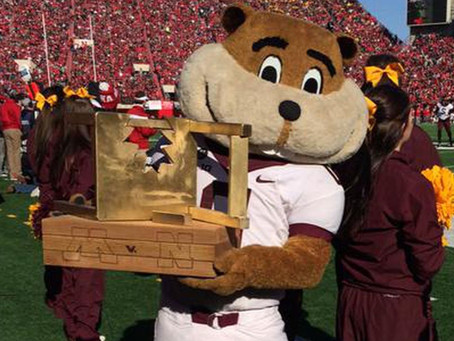 Minnesota Gophers improve to 4-2, keep the $5 Bits of Broken Chair Trophy in MPLS