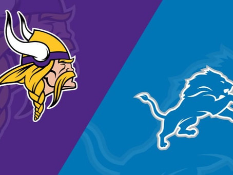 Minnesota Vikings (1-3) host the Detroit Lions (0-4) Week 5
