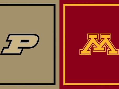 Minnesota Gophers (2-2) vs Purdue Boilermakers (3-1) Week 5 Preview
