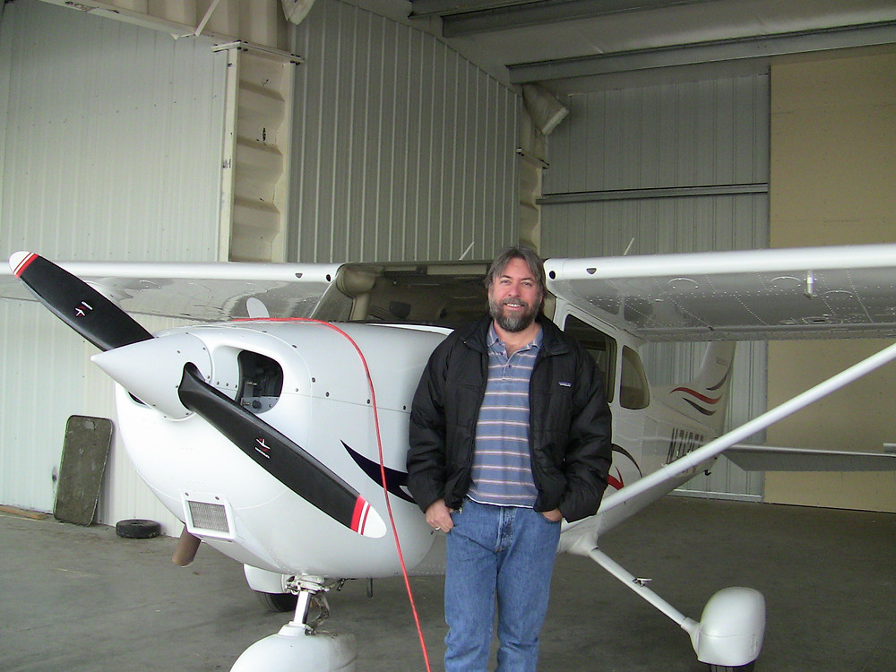 A Discovery Flight with Erica Ross in December 2009