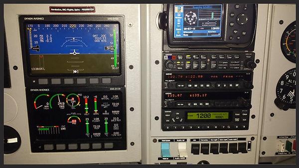 """Dynon 7"""" and Garmin GPSMAP 496"""