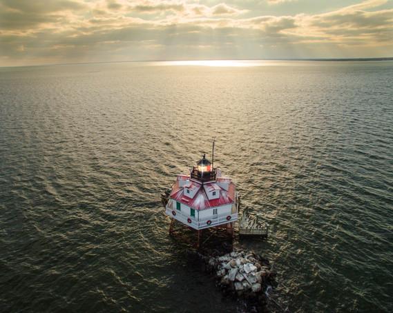 Thomas Point Annapolis Aerial Photography