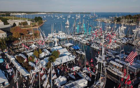 Annapolis Boat Show Aerial Photograph