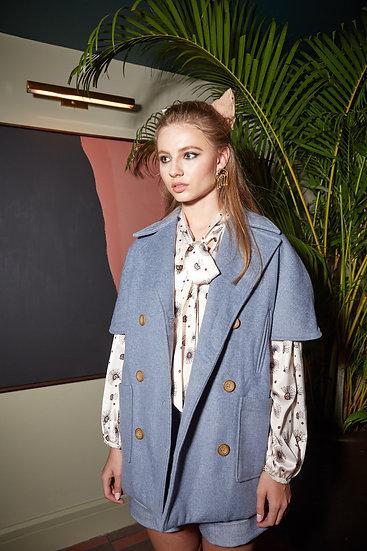 Sara Wool trench coat