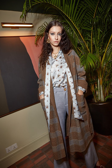 Laura Wool trench coat