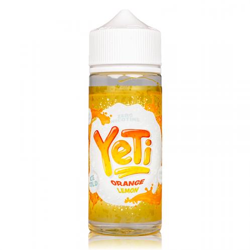 Orange Lemon Ice By Yeti 100ml Shortfill