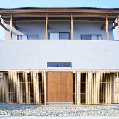 田んぼの中の家  in 金沢