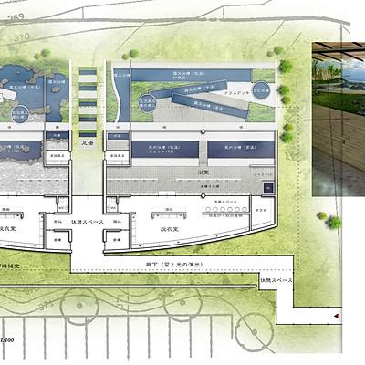 山梨県三珠町温泉建築提案