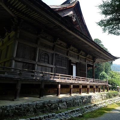 京都大原寺勝林院 現場測量調査