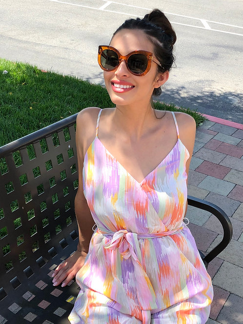 Afternoon Romance Romper